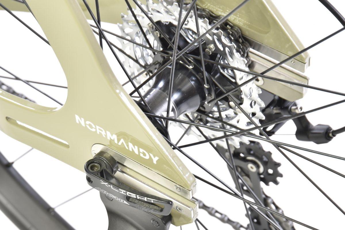 Moyeu vélo karcass modèle KC5