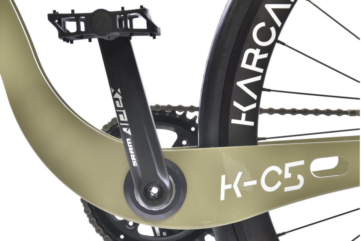 pédale Sram du vélo karcass modèle KC5