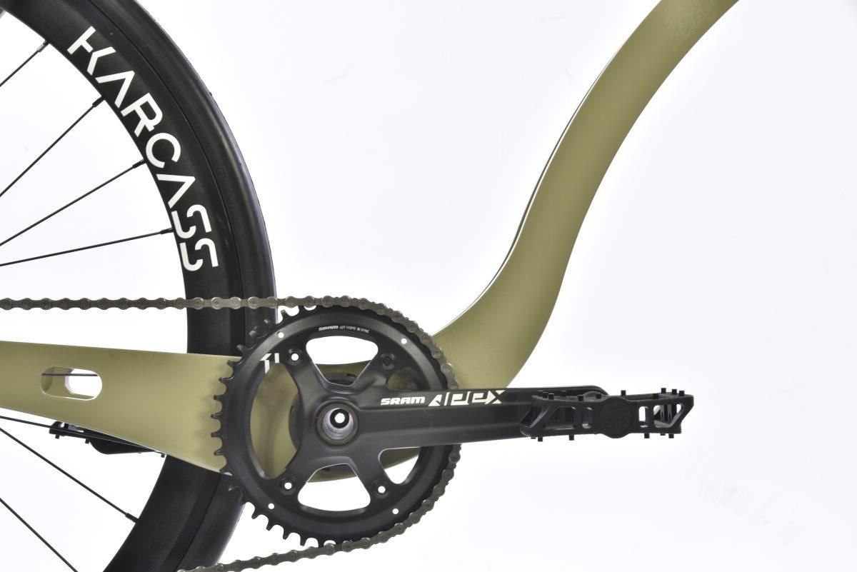 Partie inférieur du cadre du vélo karcass modèle KC5