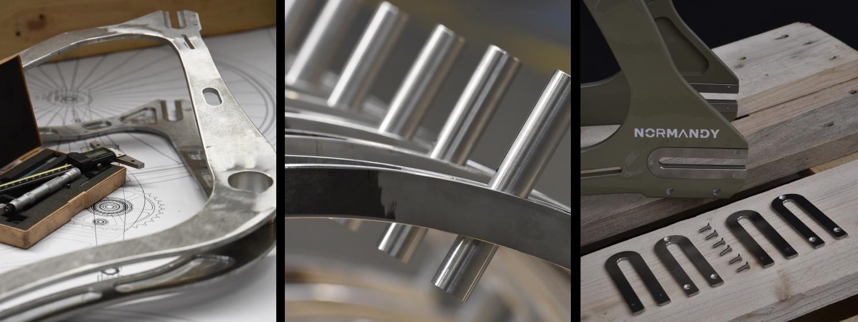 Procédés de fabrication d'un vélo Karcass